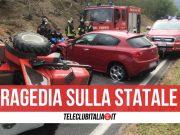 incidente mugnano del cardinale un morto trattore