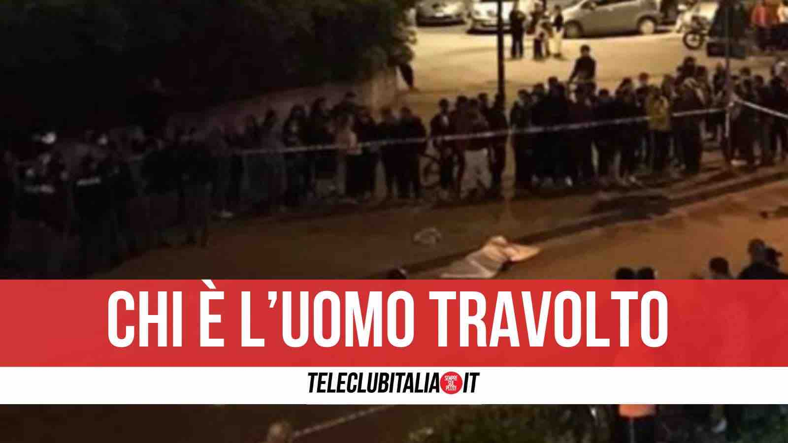 incidente scampia morto massimiliano esposito