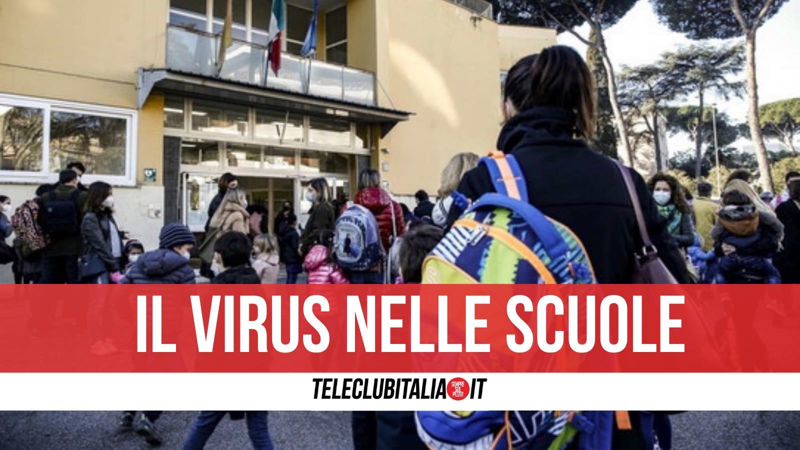 marcianise capodrise virus scuole quarantena