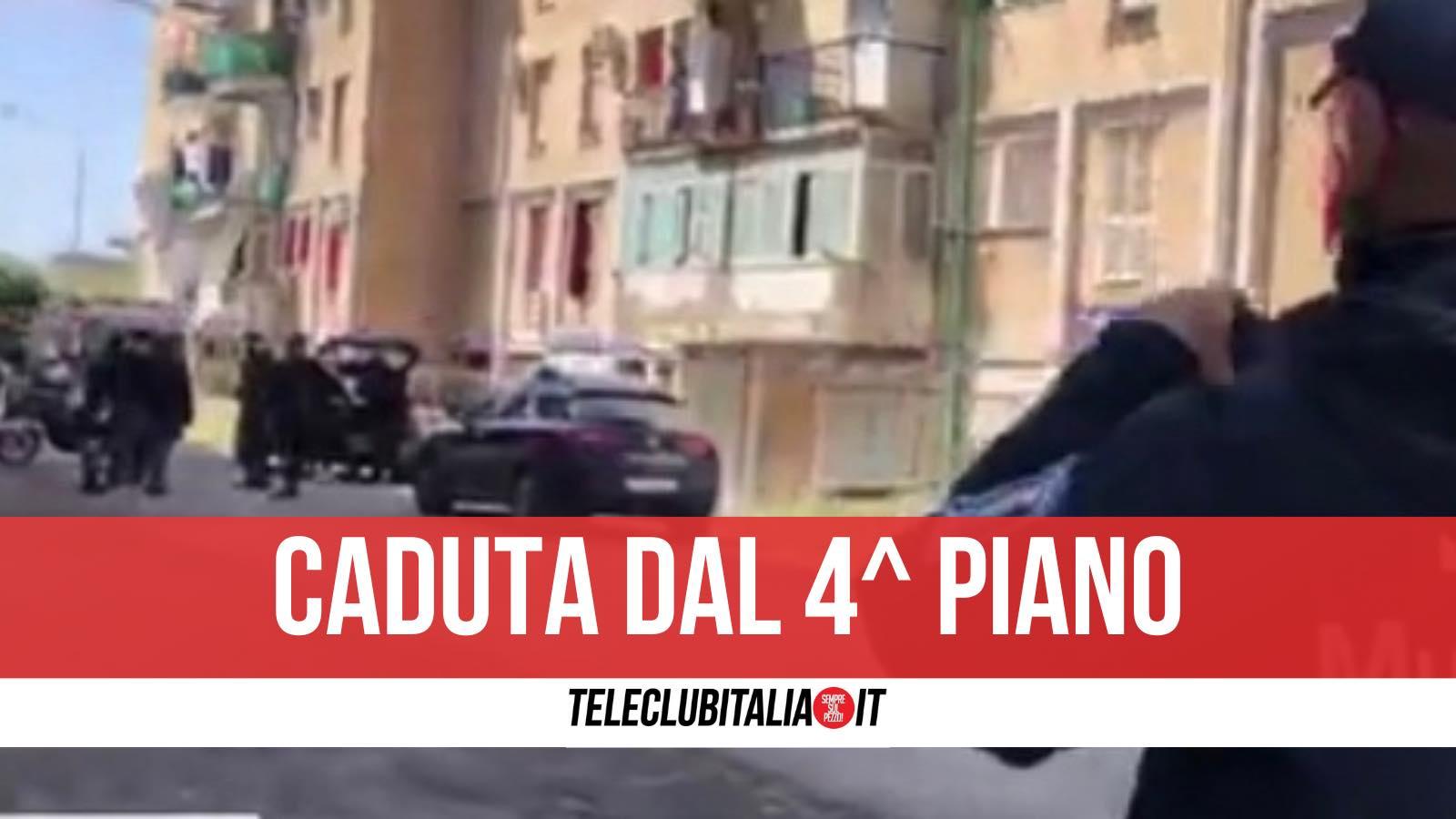 morta afragola corso italia precipitata