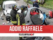 morto raffaele d'alessio incidente roccaromana