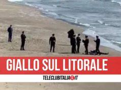 morto torregateva spiaggia