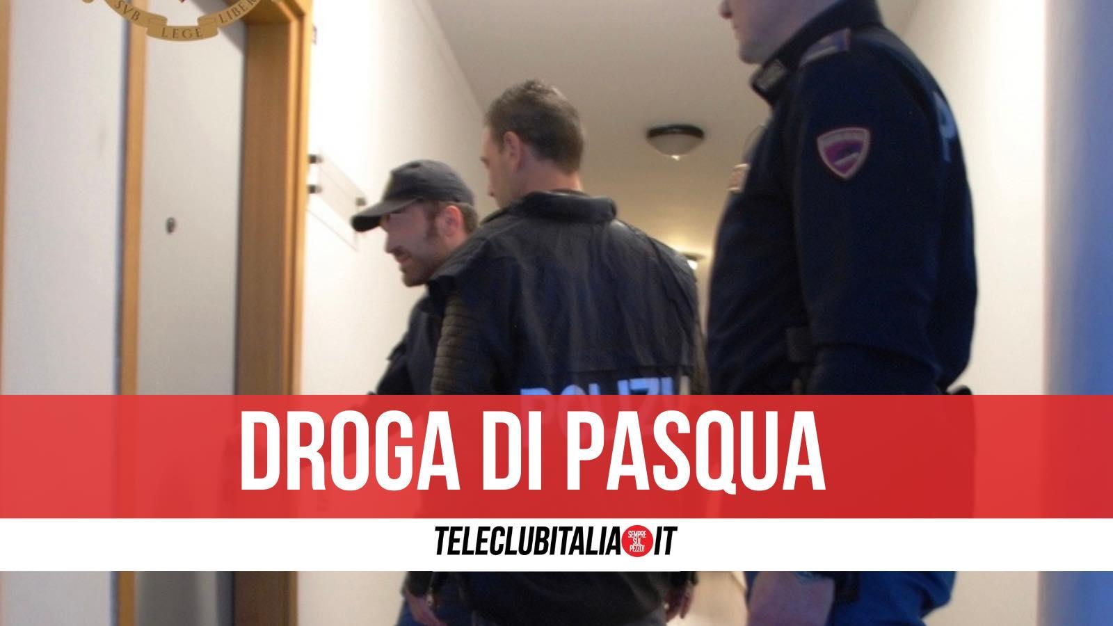 pasqua droga casoria arrestati due pusher