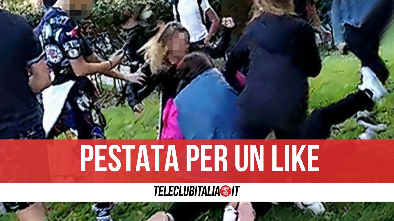 pestaggio bimba disabile roma