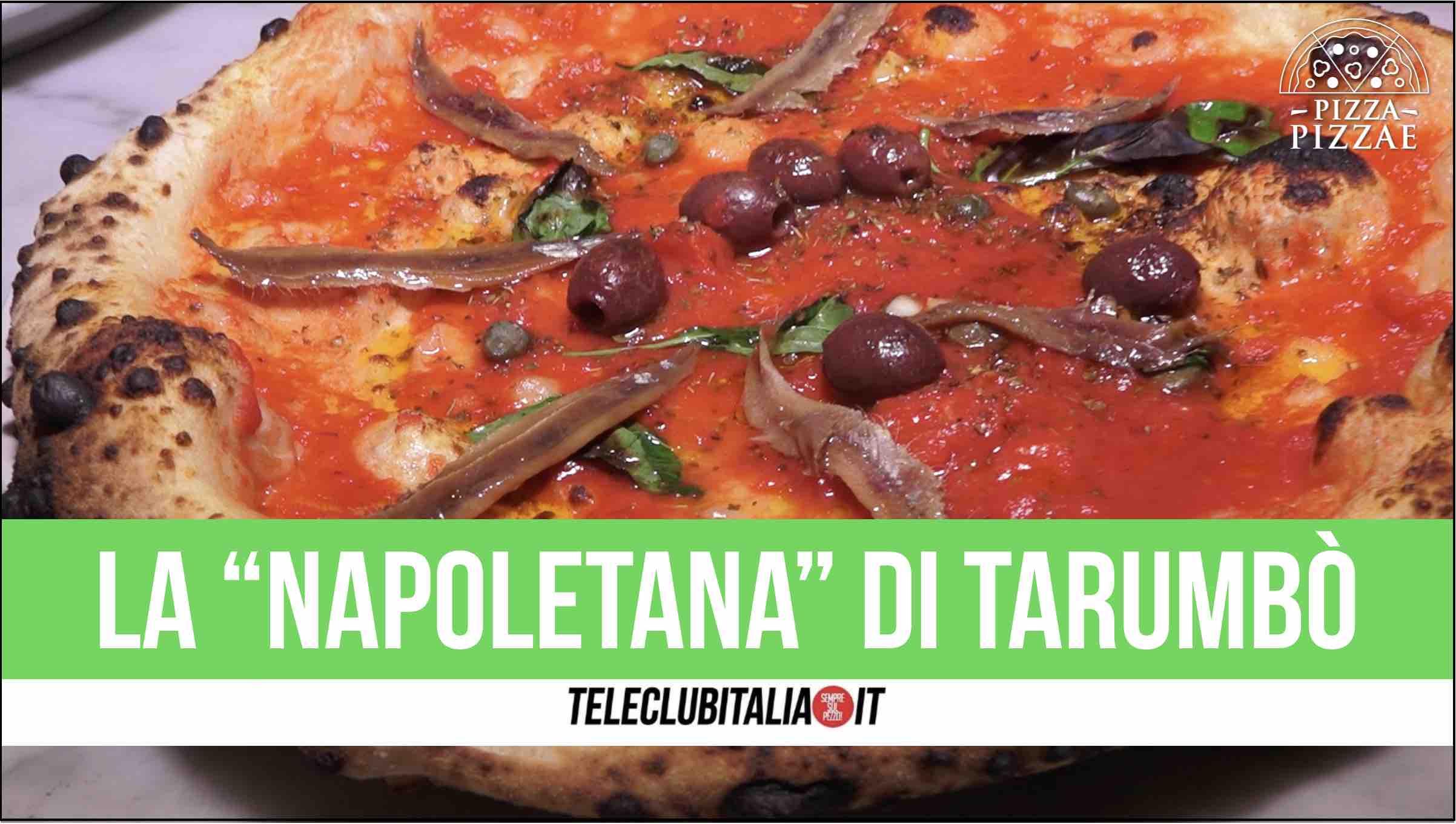 pizza tarumbo' sant arpino lendi teatro napoletana