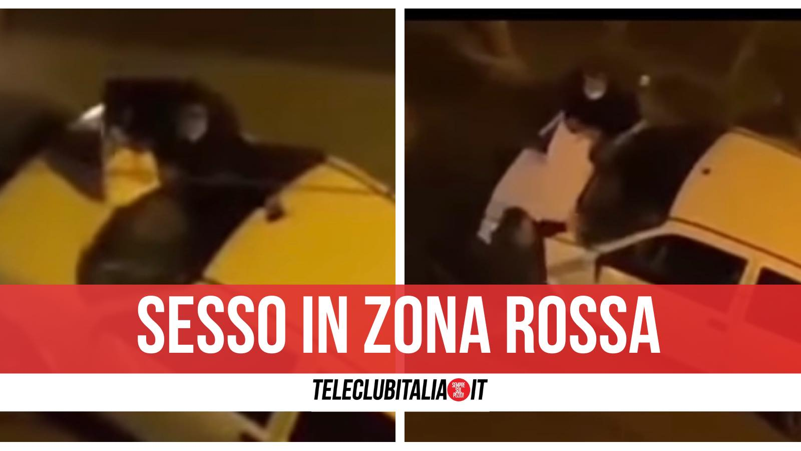 prostituta si aggrappa auto napoli video