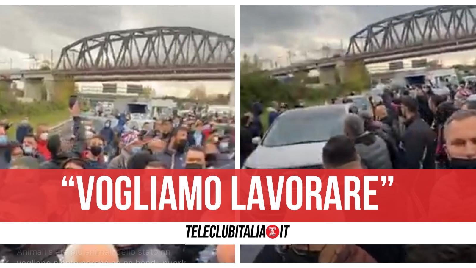 protesta ambulanti autostrada caserta napoli