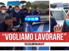 protesta autostrada a30 ambulanti