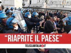 proteste io apro commercianti roma