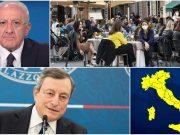 riaperture campania italia cronoprogramma