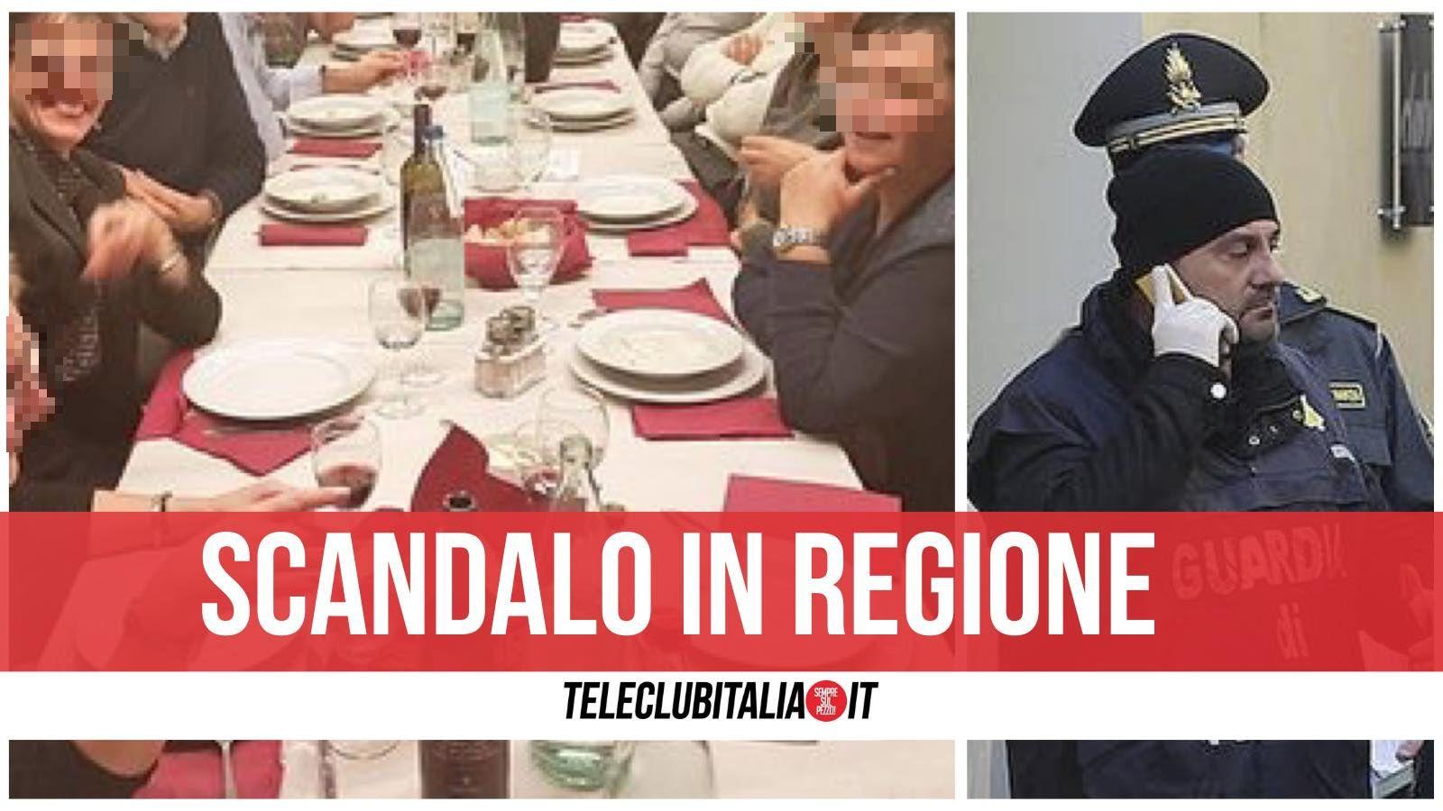 sardegna zona rossa ristorante politici pranzo