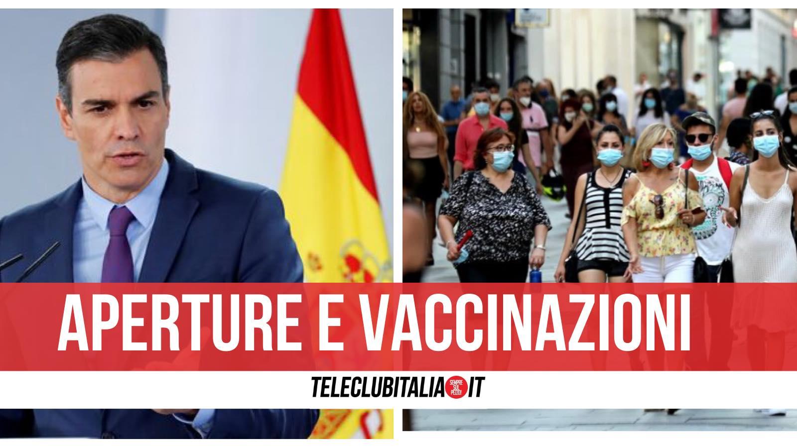 spagna vaccinati record madrid aperture