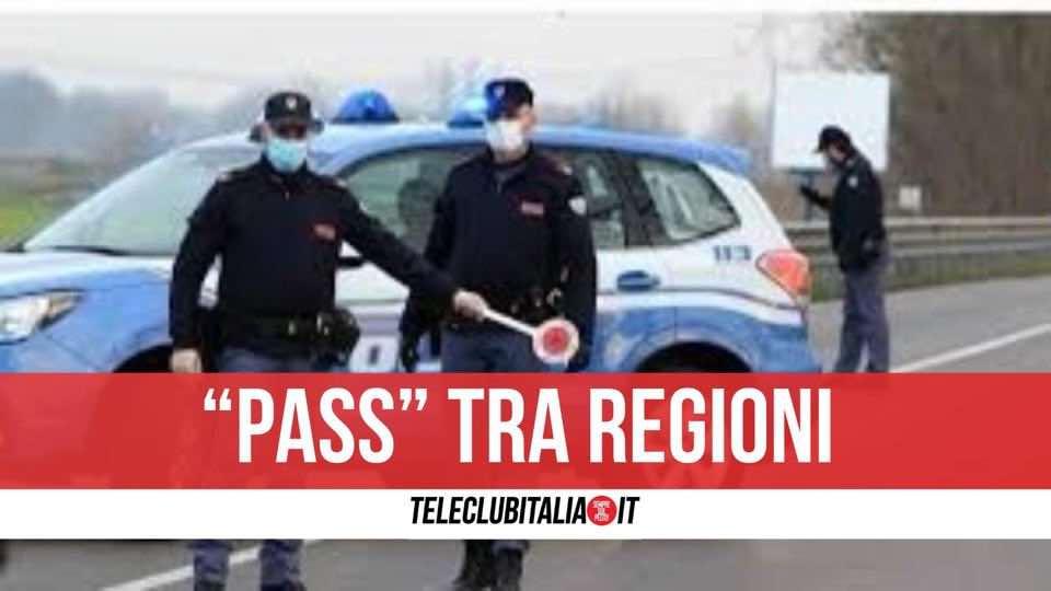 spostamenti regioni pass