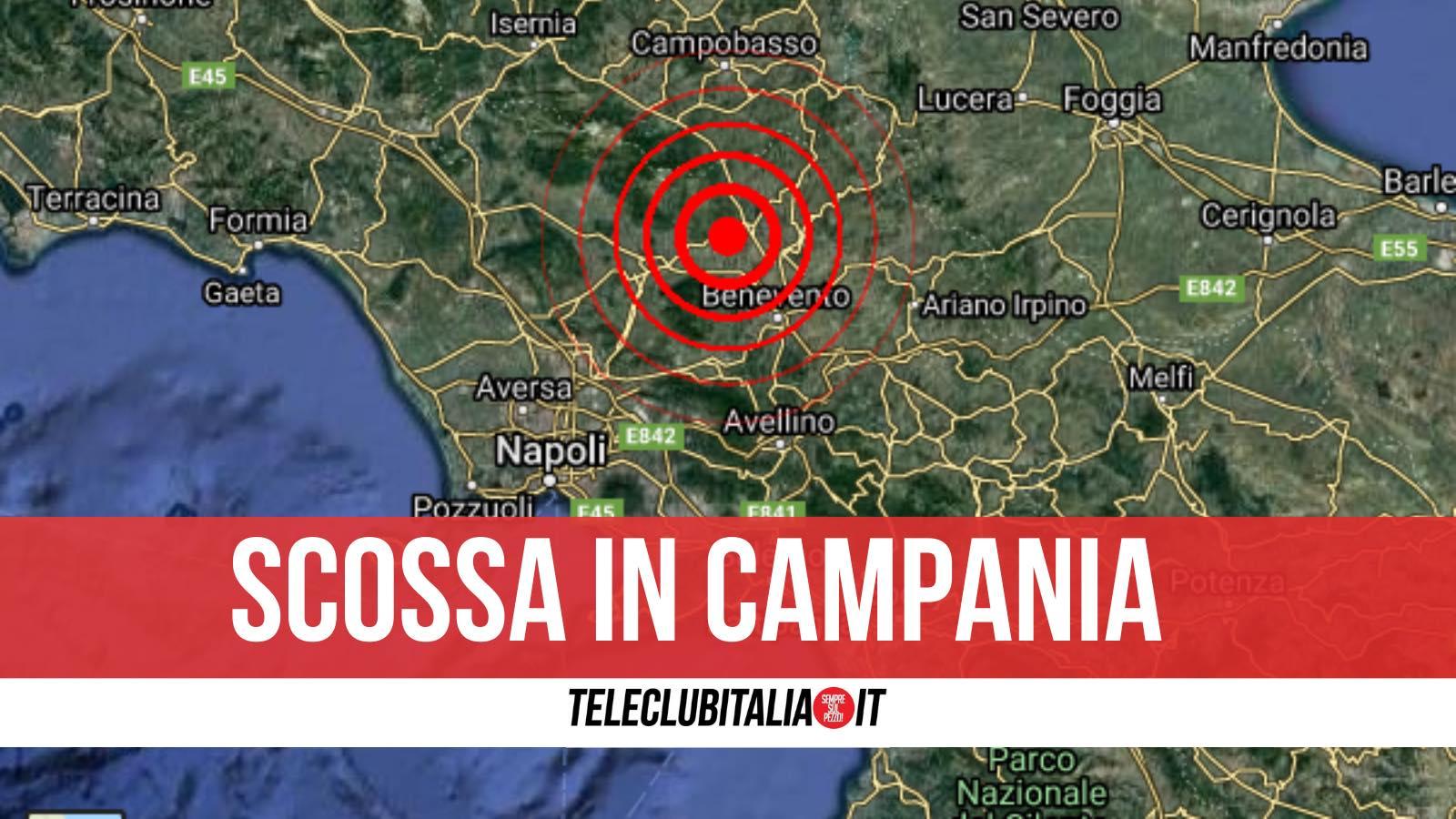 terremoto san lupo campania 8 aprile