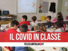 torre annunziata classi quarantena scuola covid