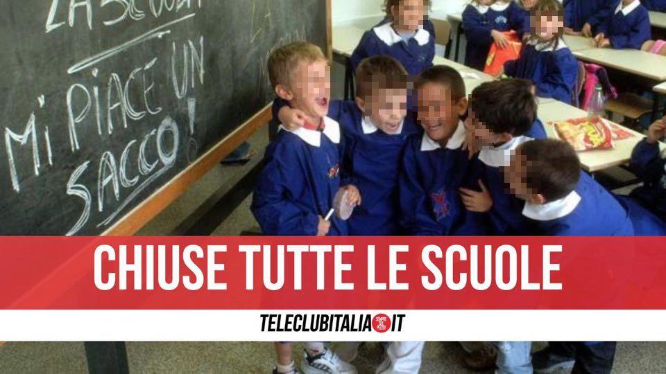 trentola ducenta chiuse scuole