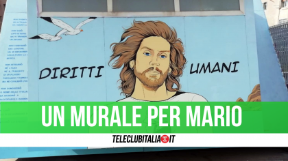 Mario Paciolla: un murales a Napoli per ricordare il cooperante di Frattamaggiore morto in Colombia