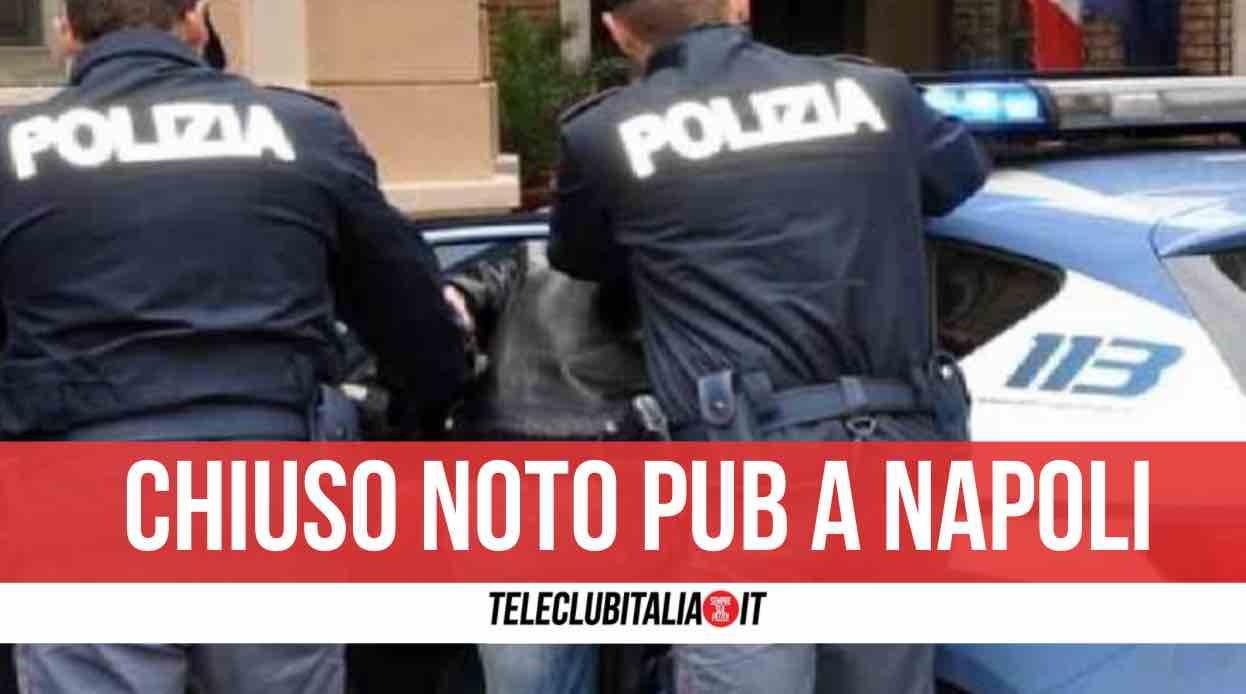 napoli aggressione polizia