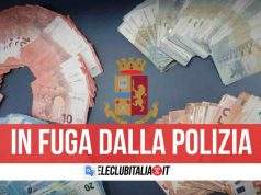 napoli controllo polizia 10mila euro