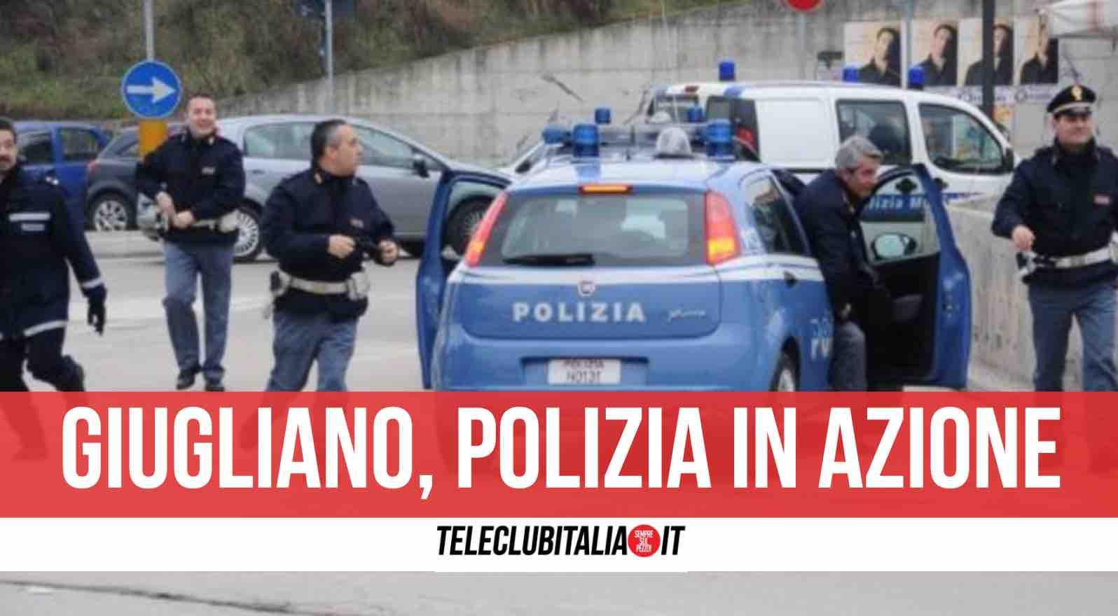 arrestato ladro giugliano