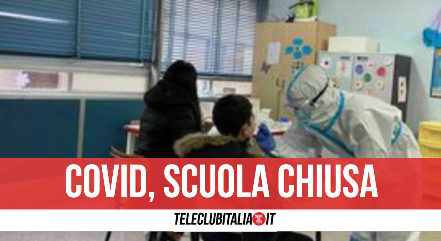 Campania focolaio covid scuola media Baccelli