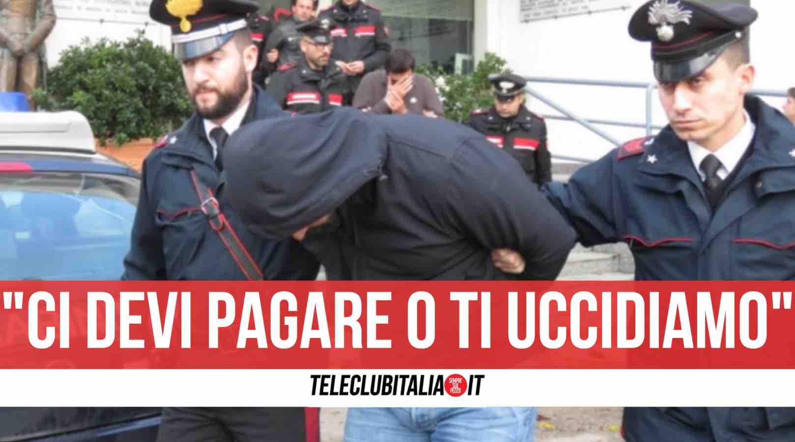 Giovanni Sicilia Luigi Del Villano arresto
