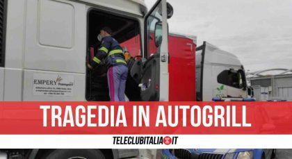 Tragedia in un'area di sosta del casertano, muore autista di Casalnuovo