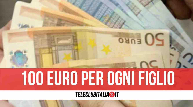 nuovo bonus famiglia 100 euro