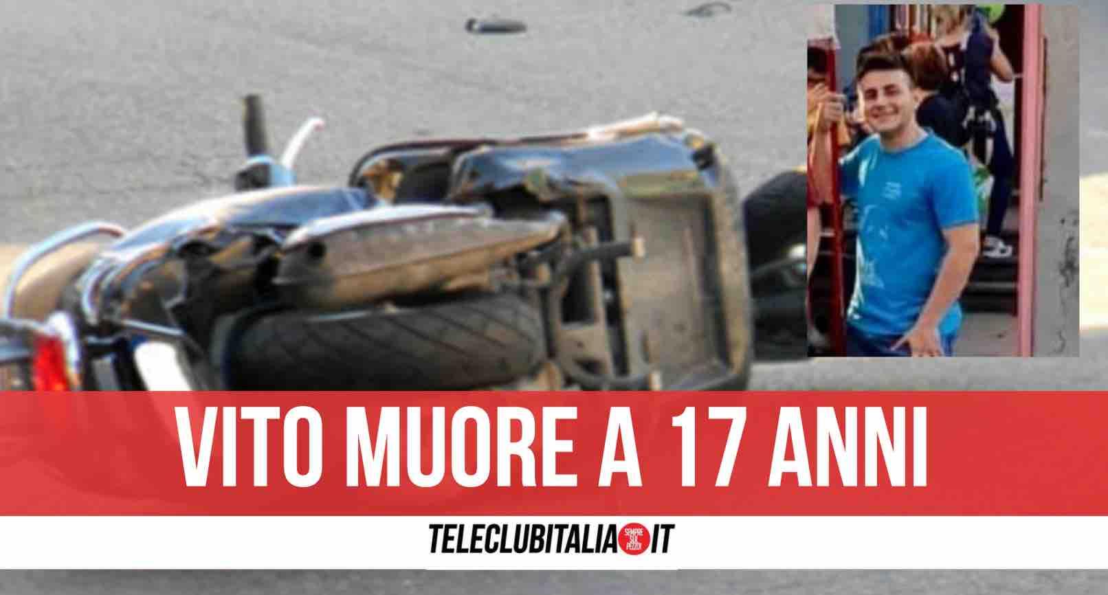 Vito Lanzafame incidente sicilia morto