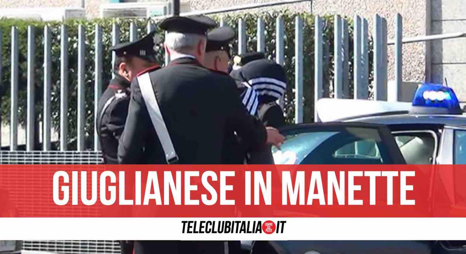 giugliano arrestato 37enne