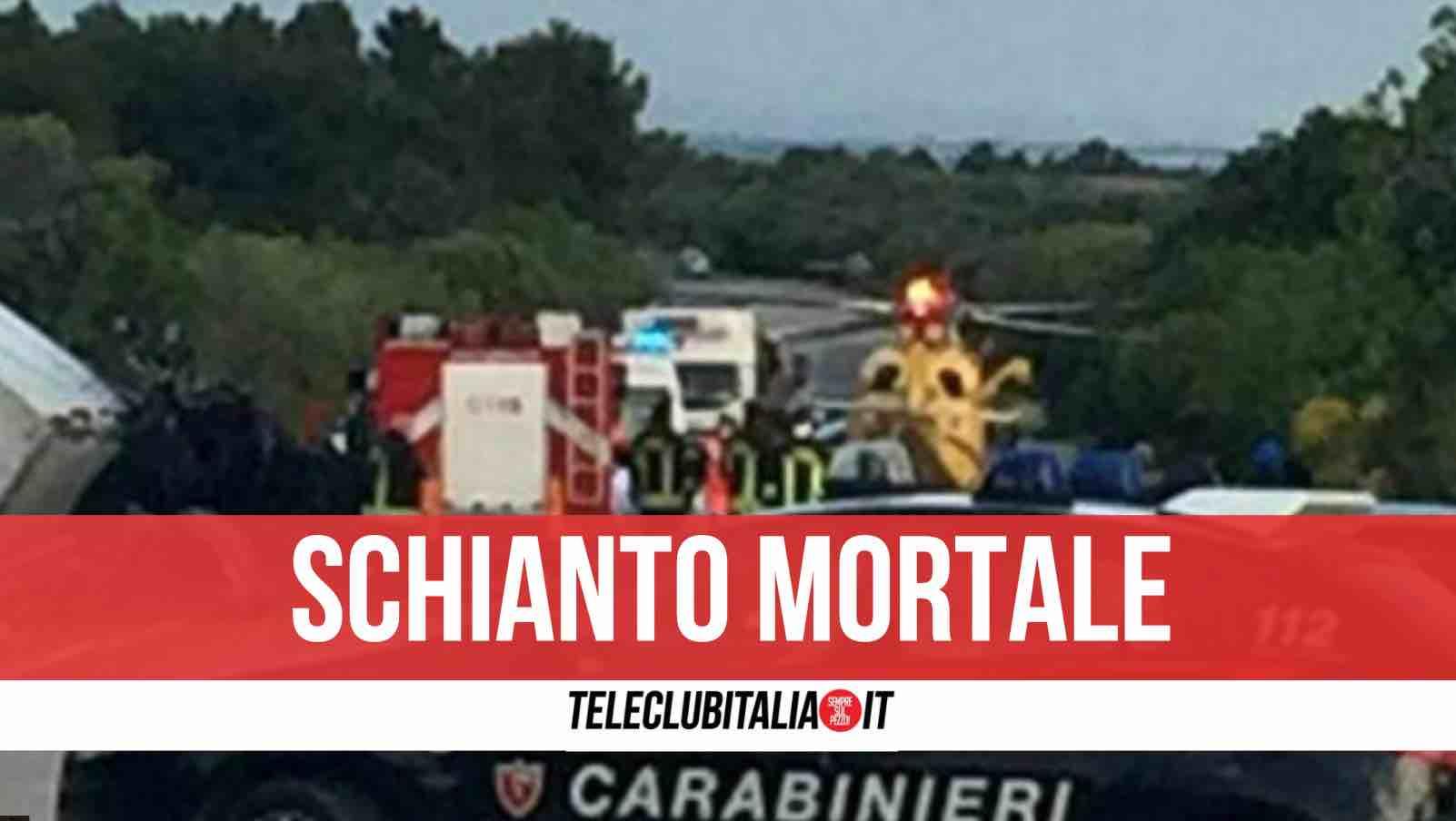 incidente Cagnano Varano morto 21enne