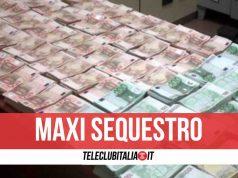 sequestro 360mila euro contanti