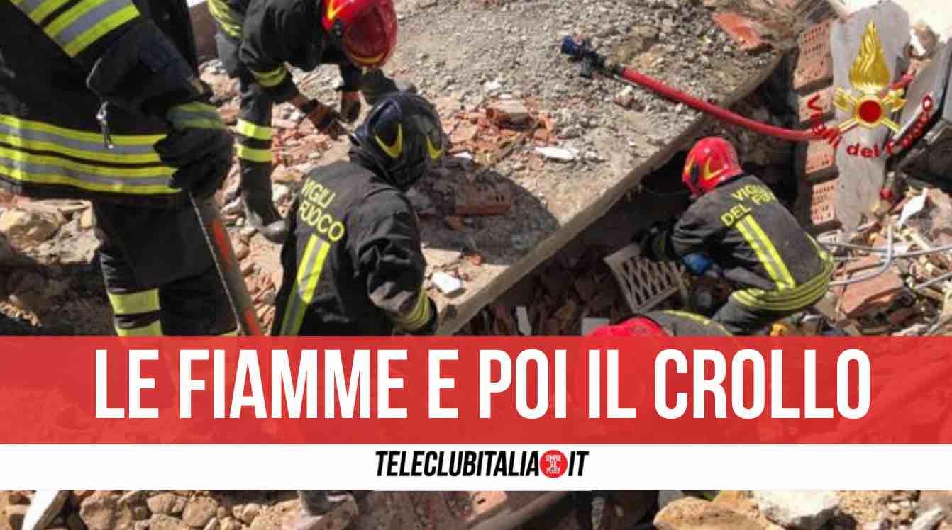 esplosione crollo abitazione Greve in Chianti
