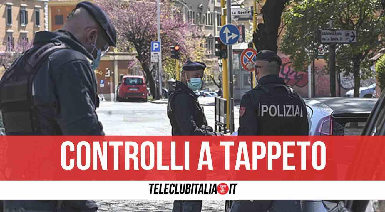 controlli polizia castellammare
