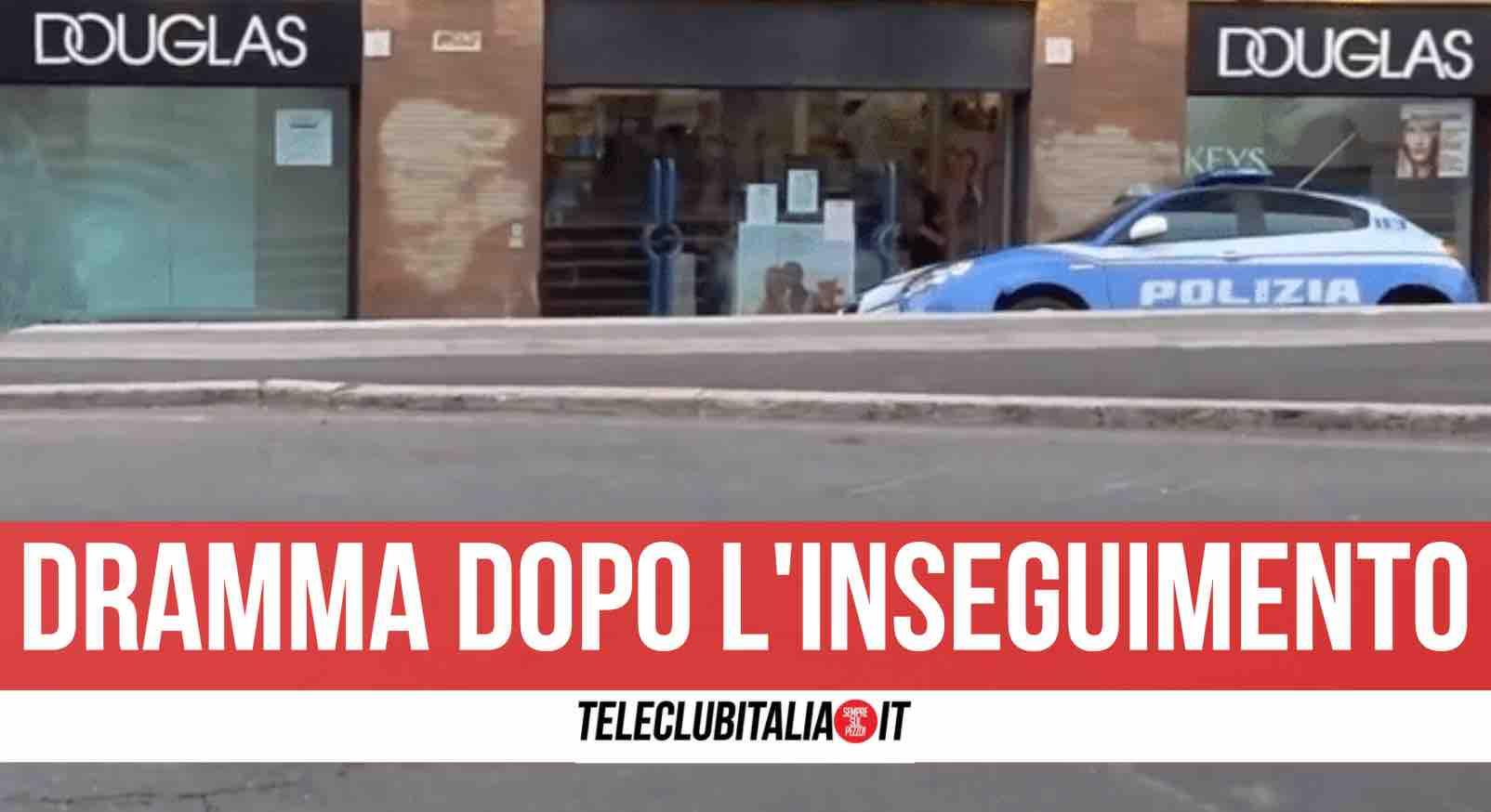 incidente roma polizia
