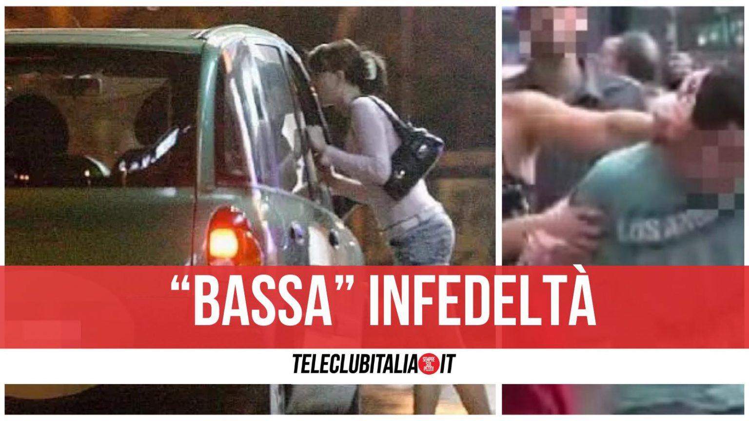 Sorprende il marito mentre carica una prostituta: picchiati entrambi. Traffico in tilt