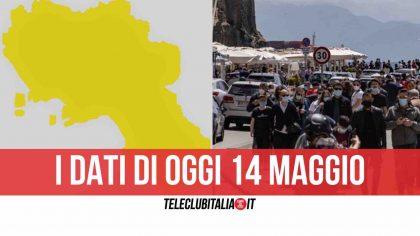 """""""Regge"""" la zona gialla in Campania, stabile l'indice di contagio"""