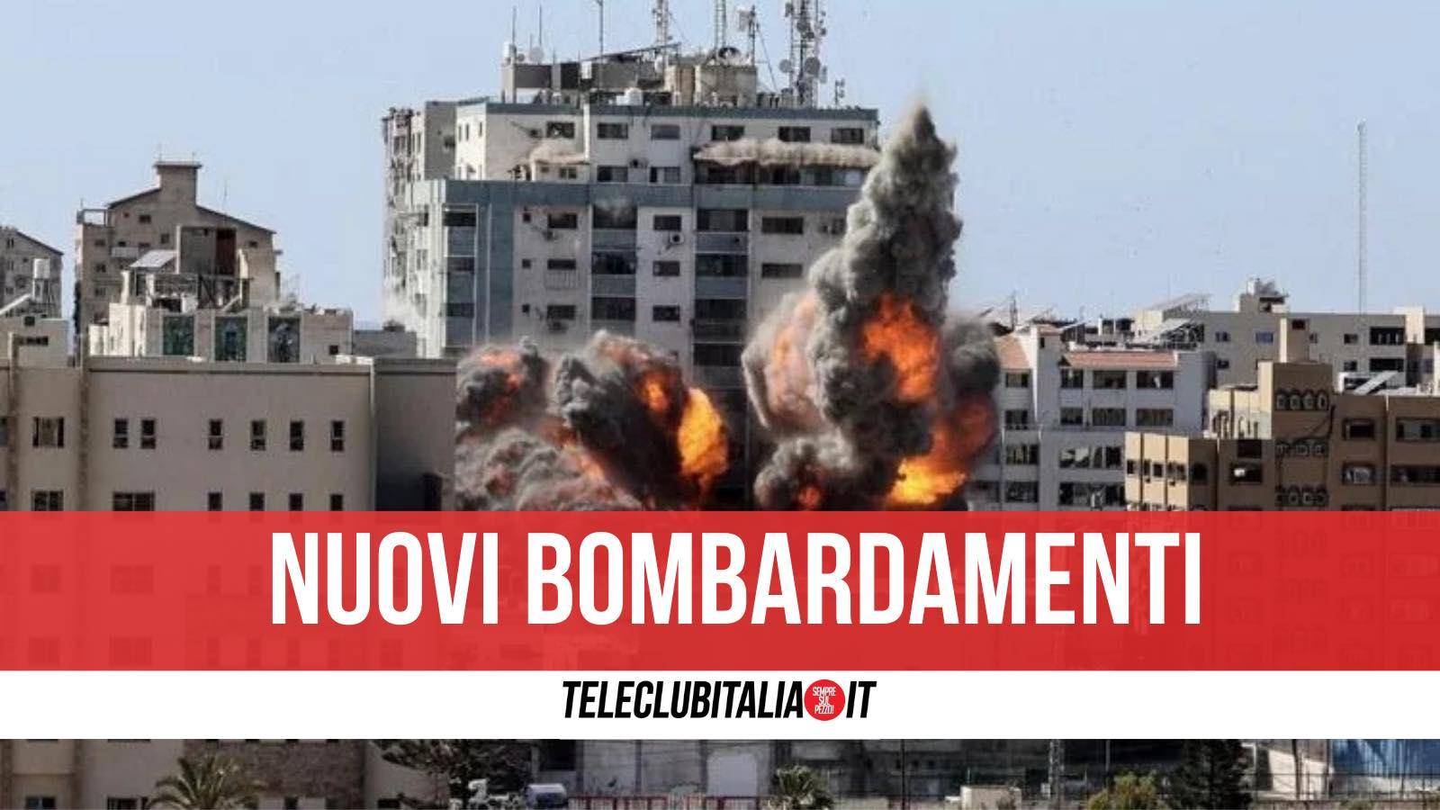 bombardamenti gaza distrutta torre al jara
