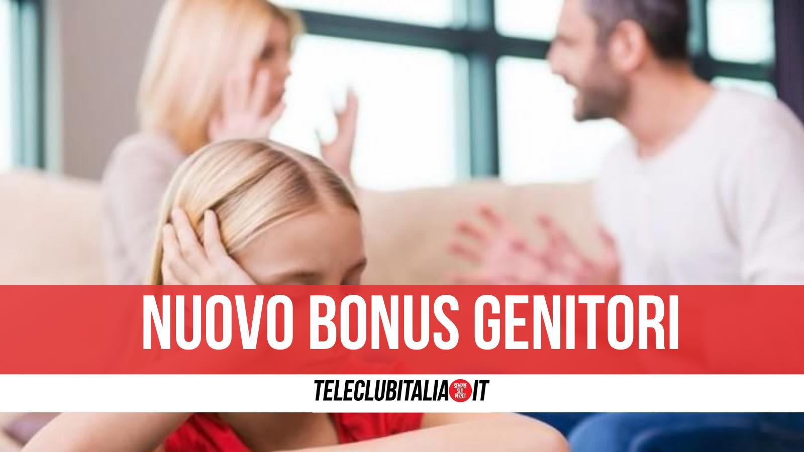 bonus genitori separati 800 euro
