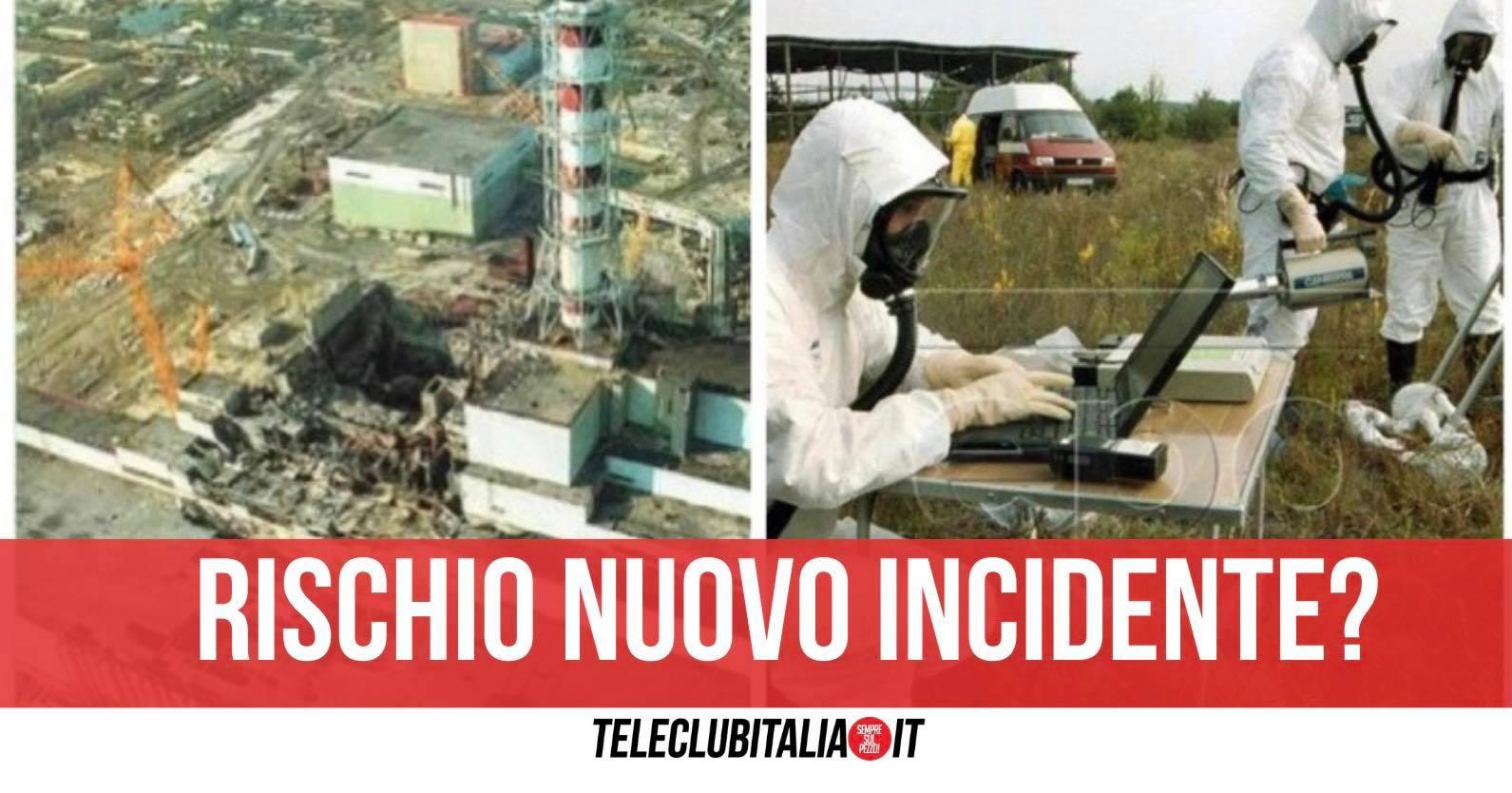 chernobyl riprende fissione nucleare