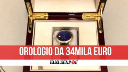 Como, nasconde orologio di 34mila euro in un peluche: sequestrato