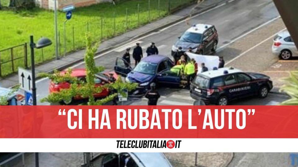 frattamaggiore arrestato ladro auto