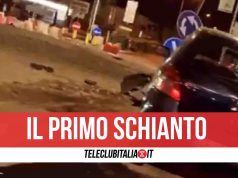 incidente rotonda villaricca