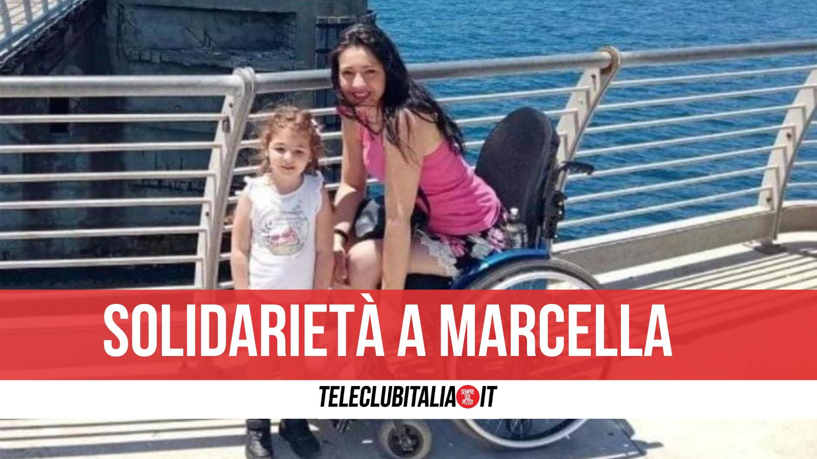 marcella teano ischia disabile