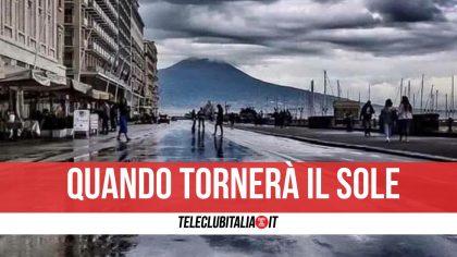 Campania, tempo bizzarro: arrivano nuvole e pioggia. Ma nel weekend cambia