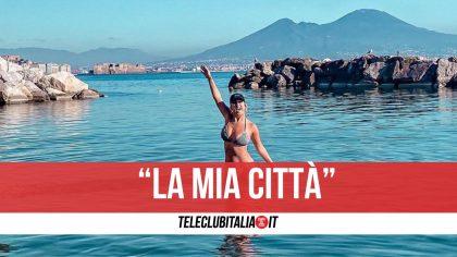 """Lady Mertens innamorata di Napoli: """"Da vedere. Venite a visitarla"""""""