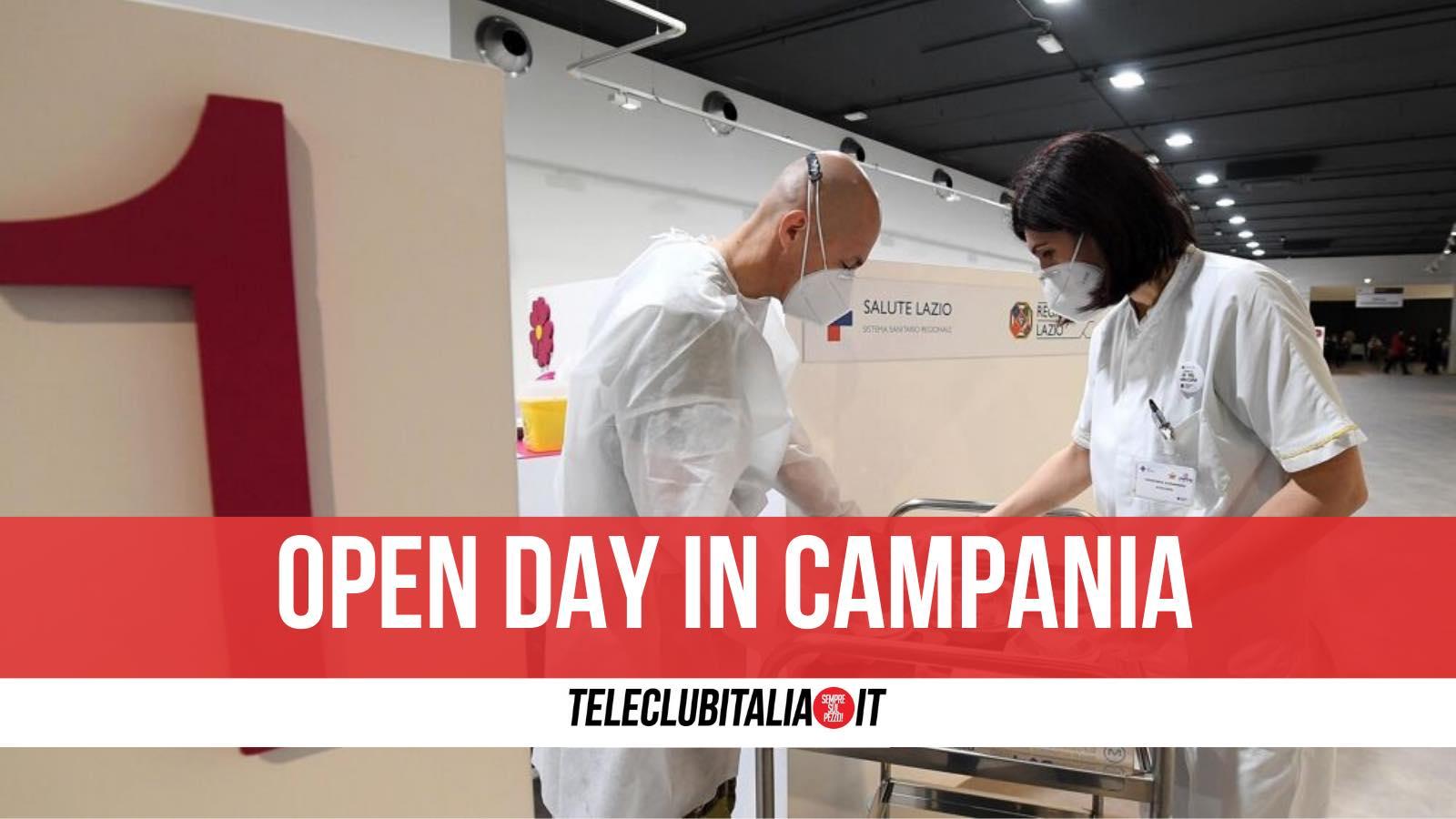 open day castel volturno vaccini