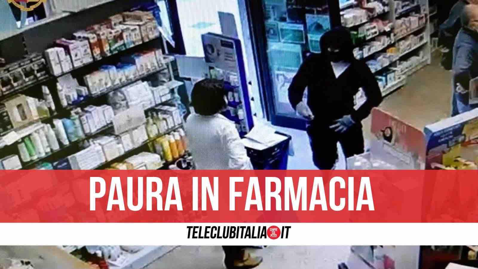 rapina farmacia soccavo