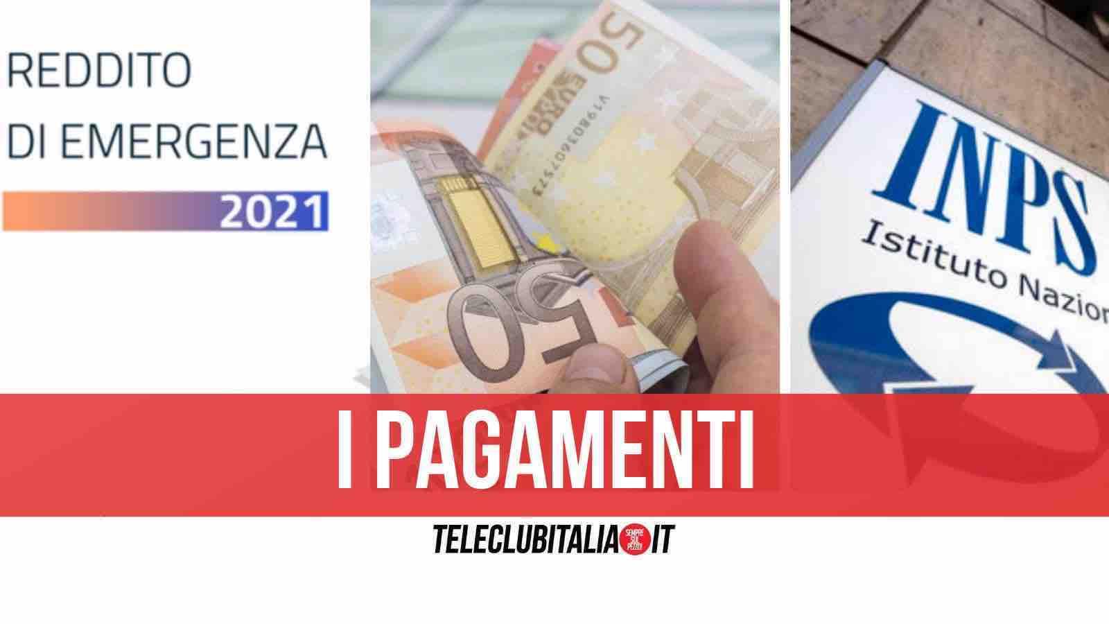 reddito di emergenza pagamento