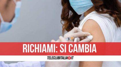 Campania, vaccini Pfizer e Moderna: seconda dose dopo 42 giorni